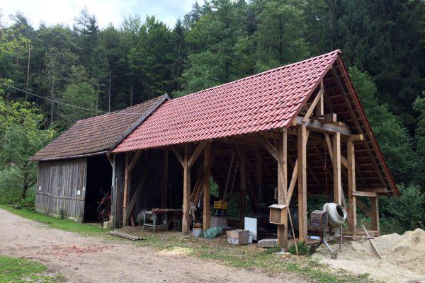 Steinbildhauerei Höllmühle Haubude